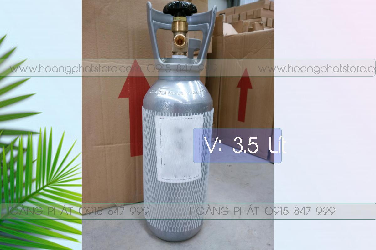 Bình khí Oxy 3.5 lít