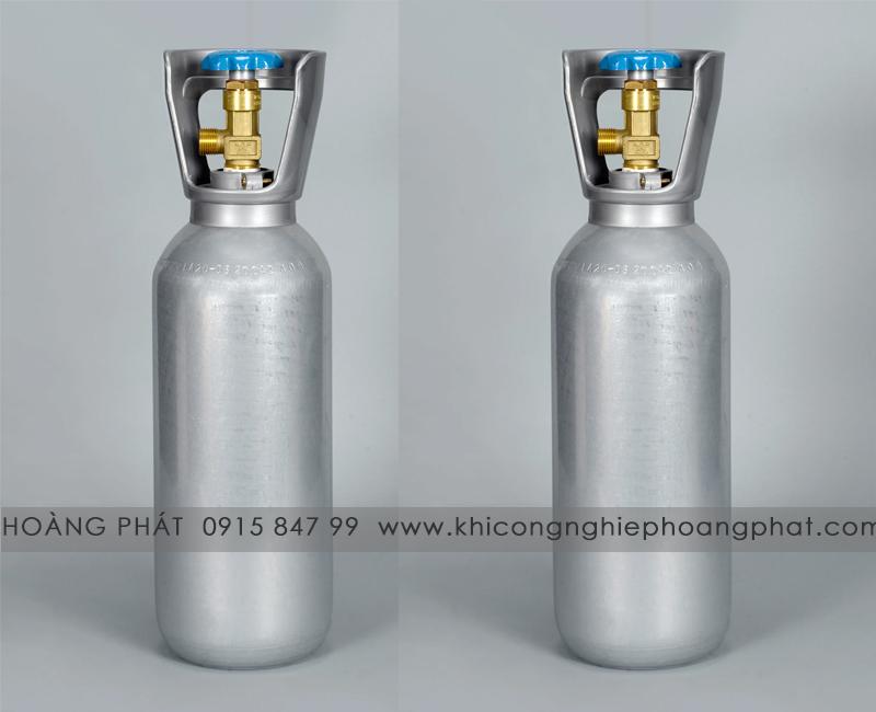 Bình khí CO2 nhôm 3 lít