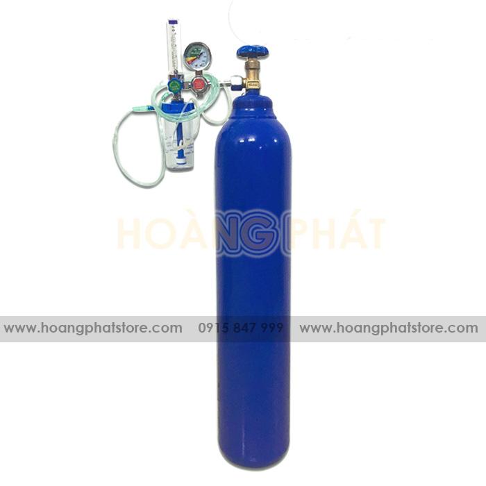 Cách sử dụng bình oxyx y tế 10 lít